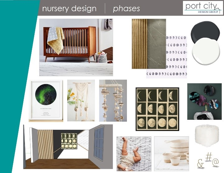 Nursery design phases